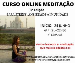 Portugal: Curso Transforme a Sua Vida com a Prática de Meditação – c/ Carla Shakti