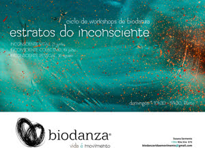 Portugal: Estratos do Inconsciente – Ciclo de Workshops de Biodanza – c/ Susana Sarmento