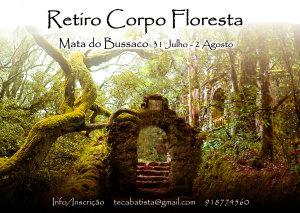 Portugal: Retiro Corpo-Floresta – Bussaco – c/ Teca Batista e Susana Salazar
