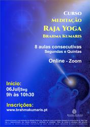 Portugal: Curso de Meditação Raja Yoga – Brahma Kumaris – Online – Segundas e Quintas