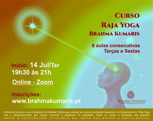 Portugal: Curso de Meditação Raja Yoga – Brahma Kumaris – Online – Terças e Sextas