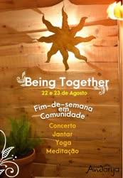 Portugal: Fim-de-semana em Comunidade na Avidanja – Being Together –
