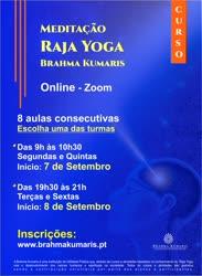 Portugal: Curso de Meditação Raja Yoga – pela Brahma Kumaris