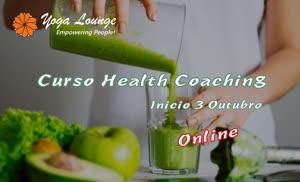 Portugal: Curso Health Coaching Online – pelo Yoga Lounge