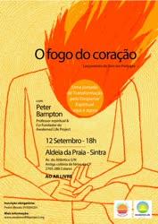 Portugal: Lançamento do livro e conversas sobre o Fogo do Coração – c/ Peter Bampton – Sintra
