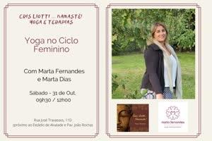 """Portugal: WORKSHOP """"Yoga no ciclo feminino: Reconhecer, Reconectar, Relembrar"""" – c/ Marta Fernandes e Marta Dias"""