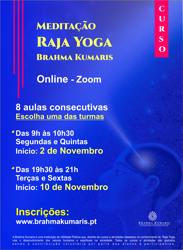 Portugal: Curso de Meditação Raja Yoga – na Brahma Kumaris