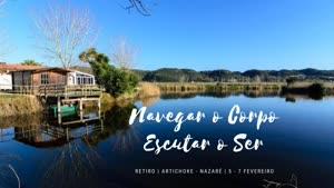 Portugal: Retiro: Navegar o Corpo, Escutar o Ser – na Nazaré – c/ Teca Batista
