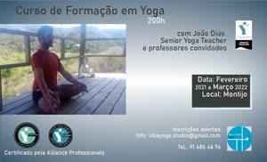 Portugal: Curso de Formação em Yoga – c/ João Paulo Dias e Professores Convidados