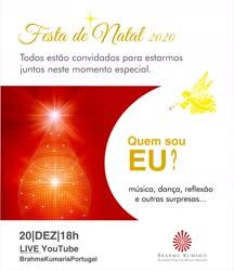 Portugal: Festa de Natal 2020 – Quem Sou Eu? – na Brahma Kumaris