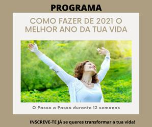 """Portugal: Programa """"Como Fazer de 2021 o Teu Melhor Ano"""""""
