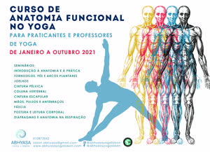 Portugal: CURSO DE ANATOMIA FUNCIONAL NO YOGA – ABHYASA YOGA CENTER – LISBOA