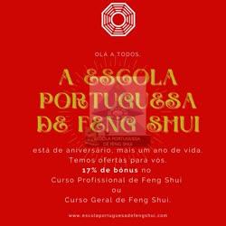 Portugal: Aniversário da Escola Portuguesa de Feng Shui