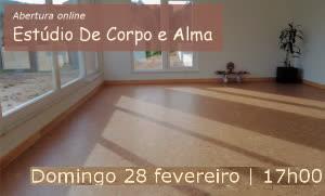 Portugal: Abertura do Estúdio De Corpo e Alma – Bênçãos e Celebração | Online – c/ Lina Afonso