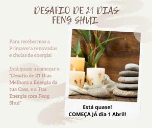 Portugal: Desafio de 21 Dias de Feng Shui para cuidares da Energia da tua Casa e assim estarás a cuidar da tua Saúde e Energia – c/ Carla Shakti