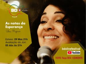 """Portugal: Sílvia Nazário, Cantora e Professora da Brahma Kumaris, é TOP30 do BDO live Festival – Portugal/21 – Vote e apoie a sua Canção """"Notas de Esperança"""""""