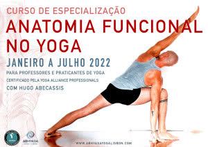 Portugal: ANATOMIA FUNCIONAL NO YOGA – c/ Hugo Abecassis – Abhyasa Yoga Lisbon