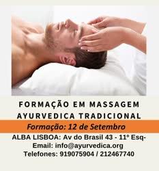 Portugal: Massagem Ayurvédica Tradicional: formação aos domingos na ALBA