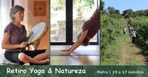 Portugal: Retiro Yoga & Natureza com Lina Afonso de Corpo e Alma